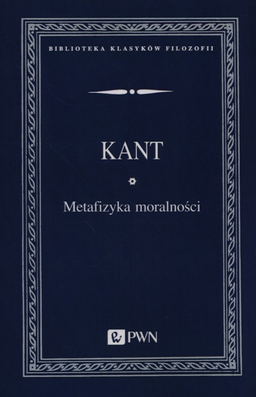 okładka Metafizyka moralności, Książka | Kant Immanuel