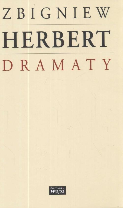 okładka Dramaty, Książka | Herbert Zbigniew