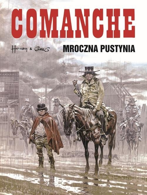 okładka Comanche 5 Mroczna pustynia, Książka | Greg, Hermann Huppen