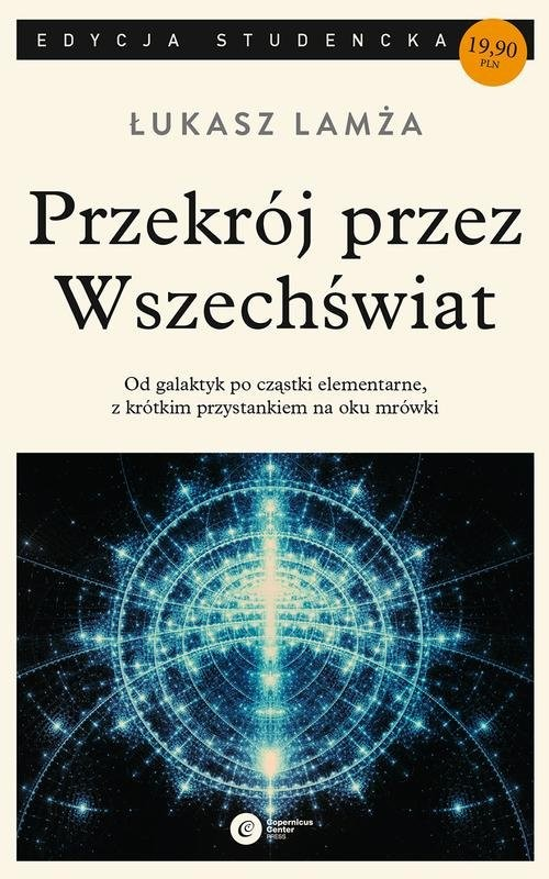 okładka Przekrój przez wszechświat, Książka | Lamża Łukasz