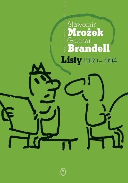 okładka Listy 1959-1994, Książka   Sławomir Mrożek, Gunnar Brandell