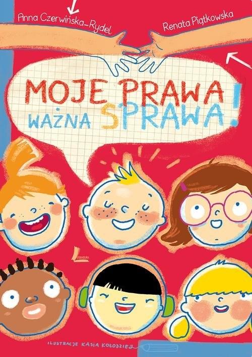okładka Moje prawa, ważna sprawa!, Książka | Renata  Piątkowska, Anna Czerwińska-Rydel