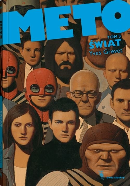 okładka Meto świat Tom 3, Książka | Grevet Yves