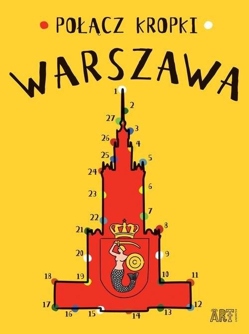 okładka Połącz kropki Warszawa, Książka | Toromanoff Agata