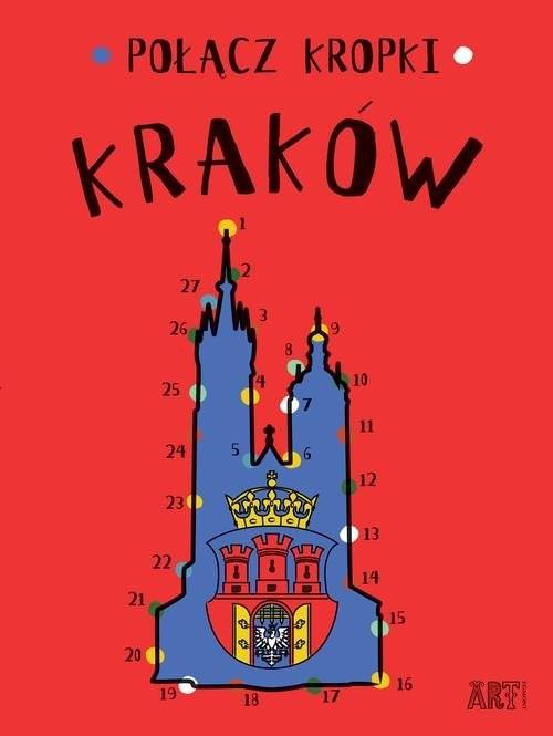 okładka Połącz kropki Kraków, Książka | Toromanoff Agata