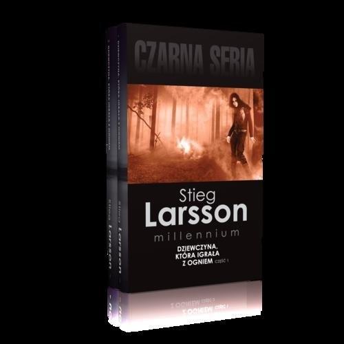 okładka Dziewczyna, która igrała z ogniem Część 1-2 Pakiet, Książka | Larsson Stieg