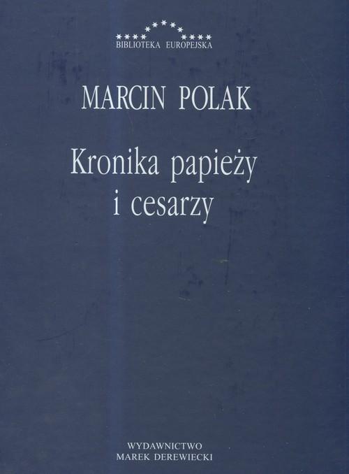 okładka Kronika papieży i cesarzy, Książka | Polak Marcin