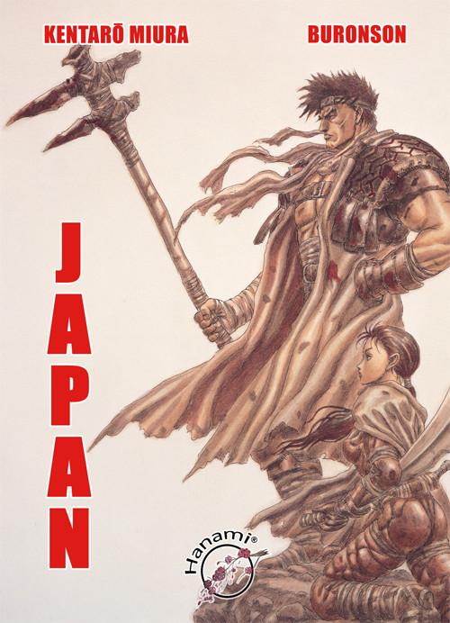 okładka Japan, Książka   Kentaro Miura, Buronson