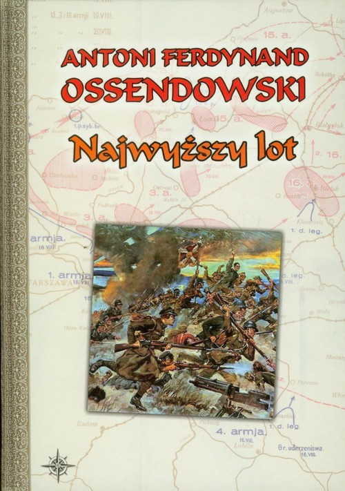okładka Najwyższy lot, Książka | Antoni Ferdynand Ossendowski