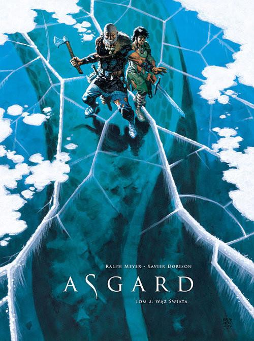 okładka Asgard Tom 2 Wąż świata, Książka | Xavier Dorison