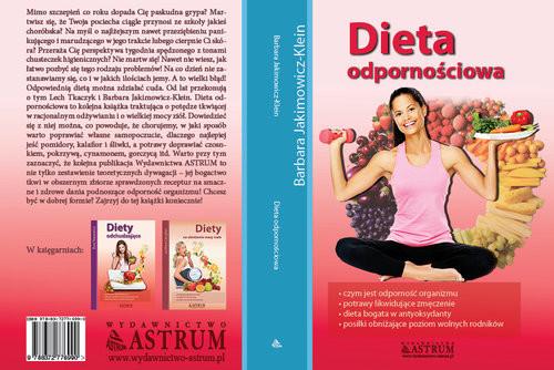 okładka Dieta odpornościowa, Książka | Jakimowicz-Klein Barbara