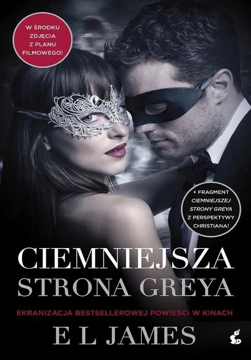 okładka Ciemniejsza strona Greya, Książka | EL James