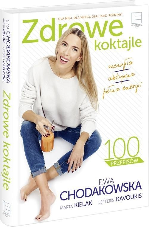 okładka FitSokomania. Zdrowe koktajle, Książka   Ewa Chodakowska