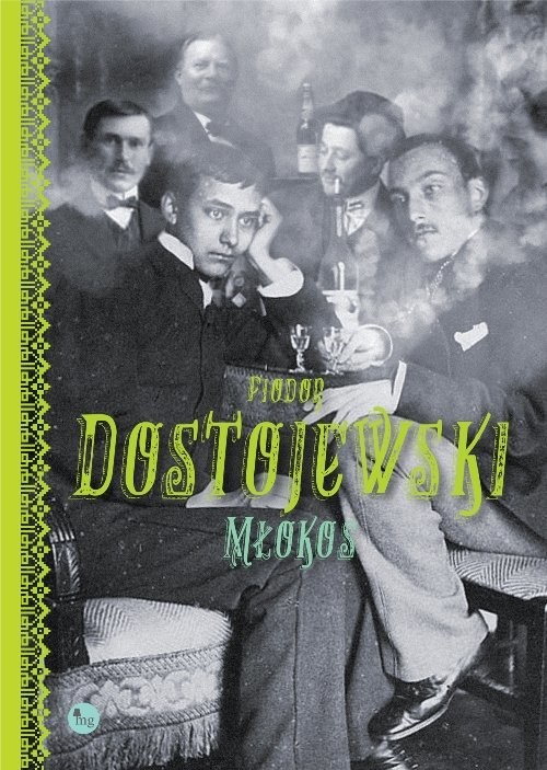 okładka Młokos, Książka | Dostojewski Fiodor