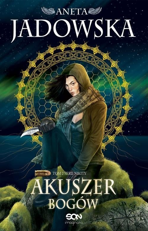 okładka Akuszer Bogów Nikita Tom 2, Książka | Jadowska Aneta