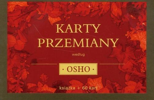 okładka Karty przemiany według Osho + karty, Książka | OSHO