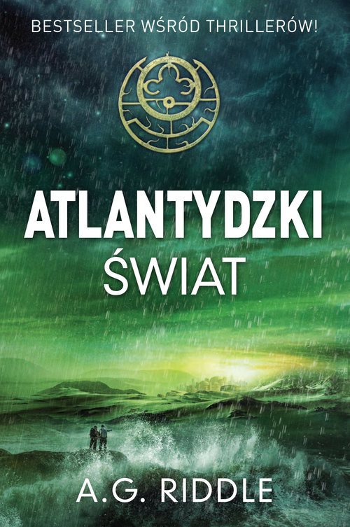okładka Atlantydzki świat, Książka | Riddle A.G.