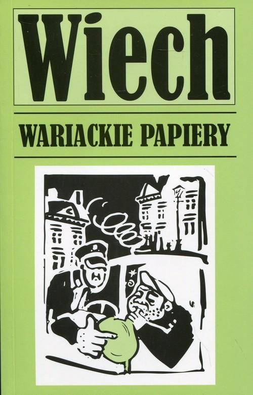 okładka Wariackie papieryksiążka      Wiechecki Stefan Wiech