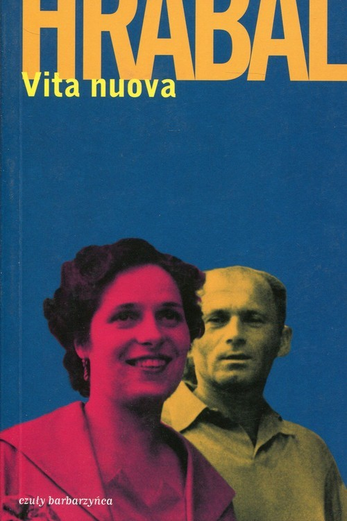 okładka Vita nuova Obrazki, Książka | Bohumil Hrabal