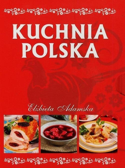 okładka Kuchnia polska + etui, Książka | Adamska Elżbieta