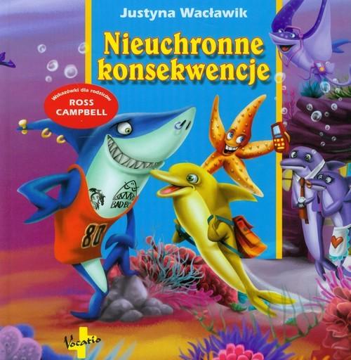 okładka Nieuchronne konsekwencje, Książka | Wacławik Justyna