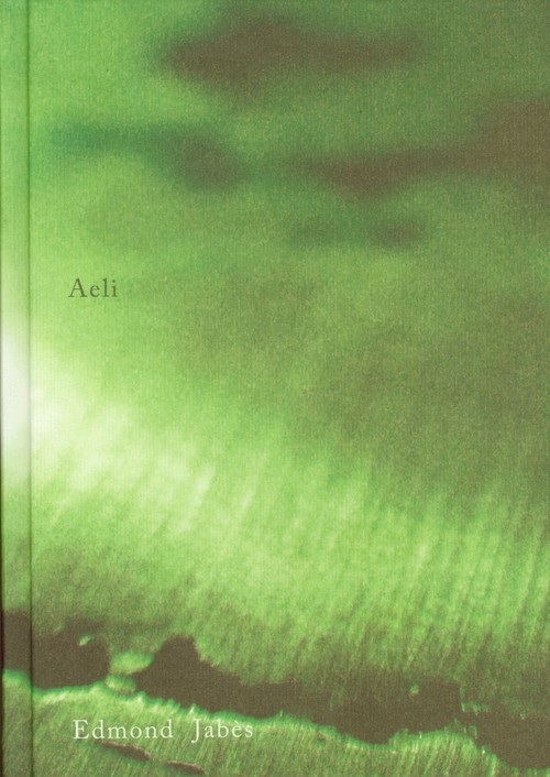 okładka Aeliksiążka |  | Jabes Edmond