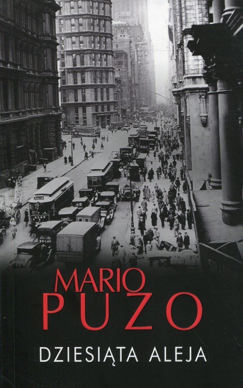 okładka Dziesiąta aleja, Książka | Puzo Mario