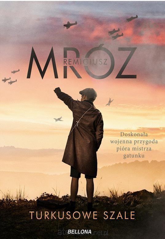 okładka Turkusowe szale, Książka | Mróz Remigiusz