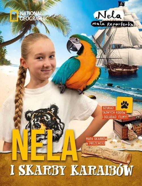 okładka Nela i skarby Karaibów, Książka | Mała reporterka Nela