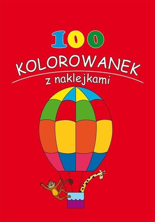 okładka 100 kolorowanek z naklejkami Zeszyt 2, Książka |