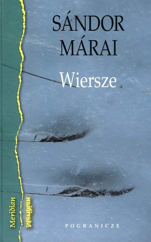 okładka Wiersze, Książka | Sándor Márai
