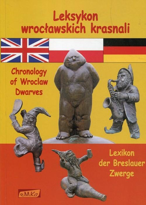 okładka Leksykon wrocławskich krasnali, Książka | Malczewska Agnieszka