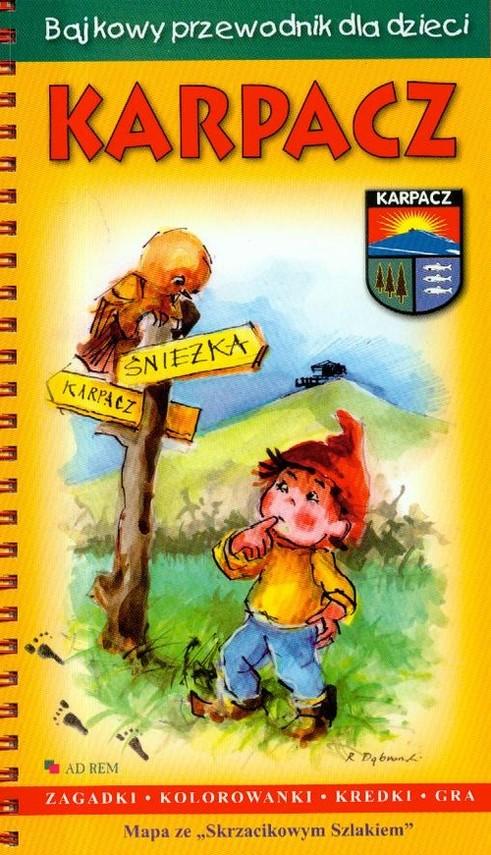 okładka Bajkowy przewodnik dla dzieci Karpacz, Książka |