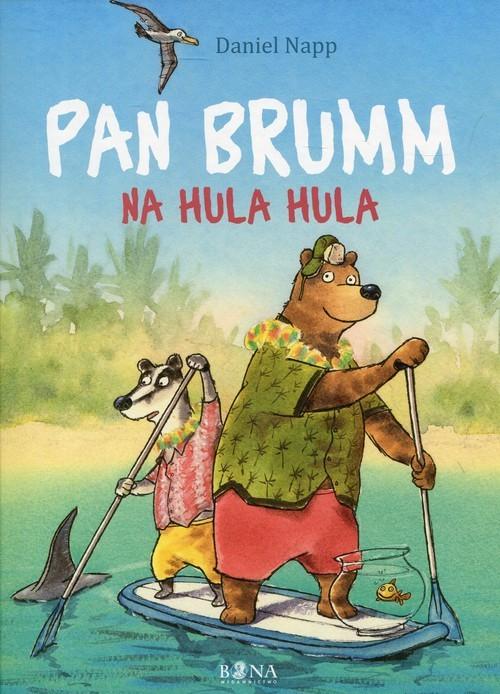 okładka Pan Brumm na Hula Hula, Książka | Napp Daniel