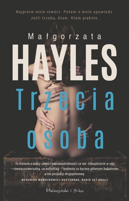okładka Trzecia osoba, Książka | Hayles Małgorzata