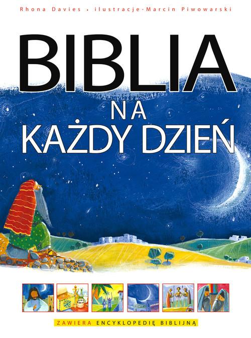 okładka Biblia na każdy dzień, Książka | Davies Rhona