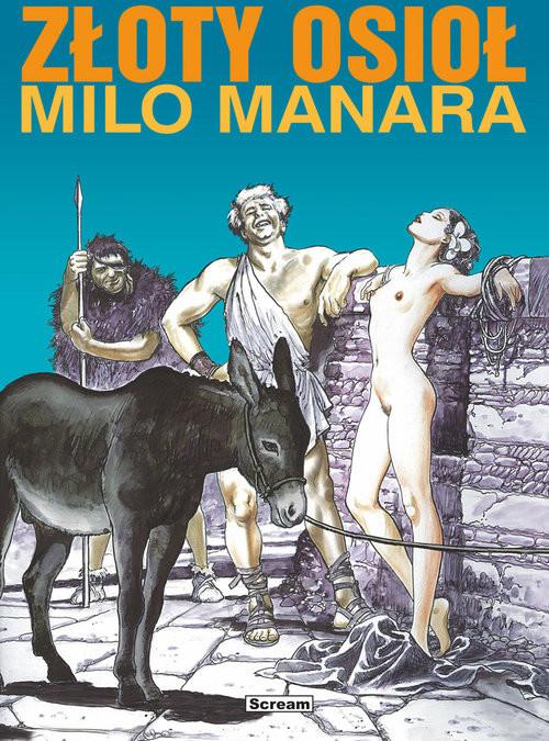 okładka Złoty Osioł, Książka | Milo Manara