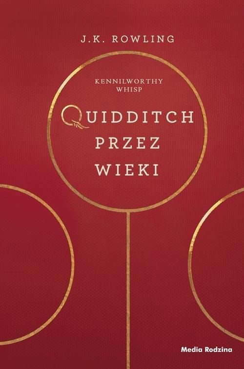 okładka Quidditch przez wieki, Książka | J.K. Rowling