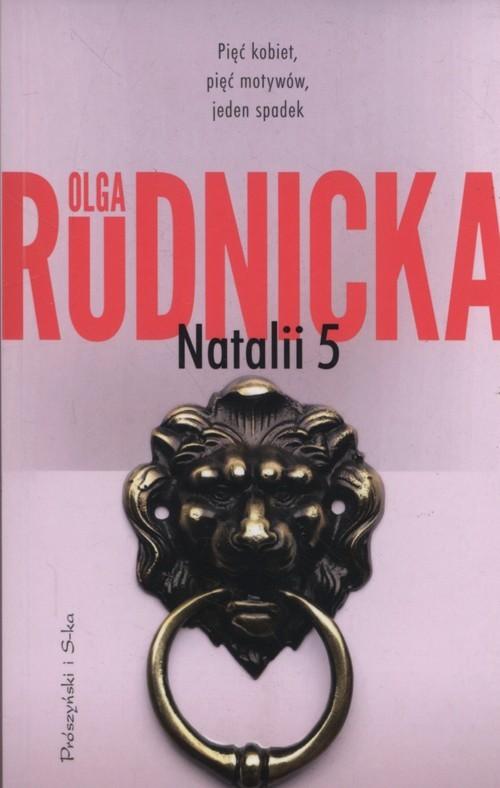 okładka Natalii 5, Książka | Olga Rudnicka