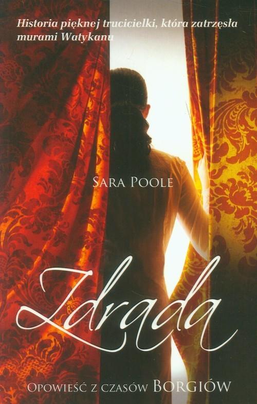 okładka Zdrada, Książka | Poole Sara
