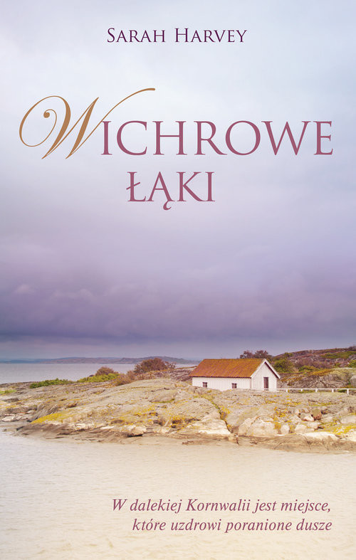 okładka Wichrowe łąki, Książka | Harvey Sarah