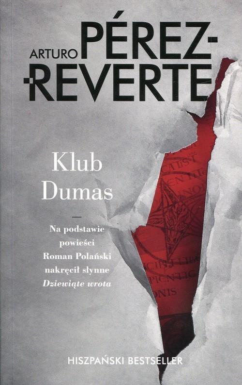okładka Klub Dumasksiążka |  | Arturo Perez-Reverte