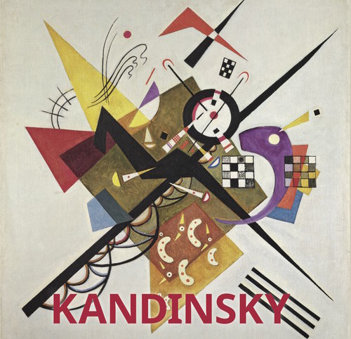 okładka Kandinsky, Książka   Düchting Hajo