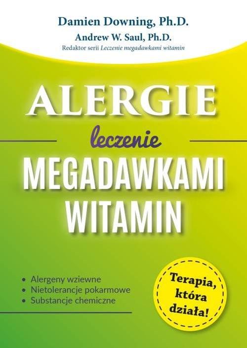 okładka Alergie Leczenie megadawkami witamin, Książka | Downing Damien