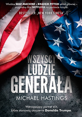 okładka Wszyscy ludzie generała, Książka | Hastings Michael