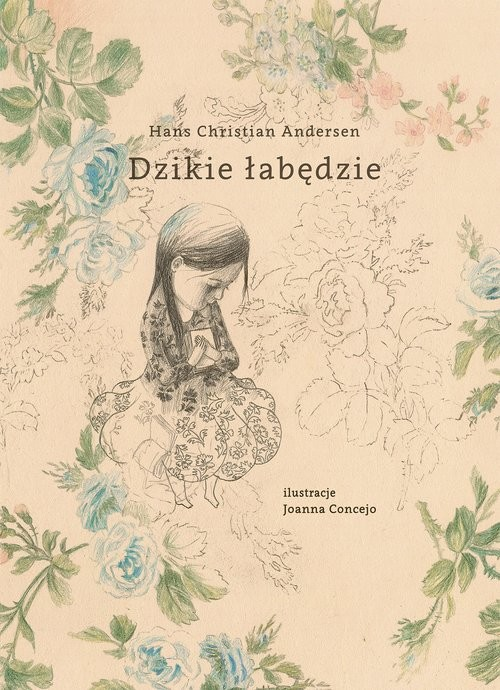 okładka Dzikie łabędzie, Książka | Hans Christian Andersen