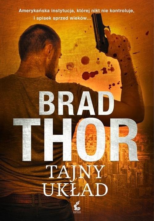 okładka Tajny układ, Książka | Thor Brad