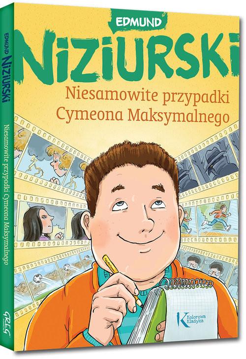 okładka Niesamowite przypadki Cymeona Maksymalnego, Książka | Niziurski Edmund