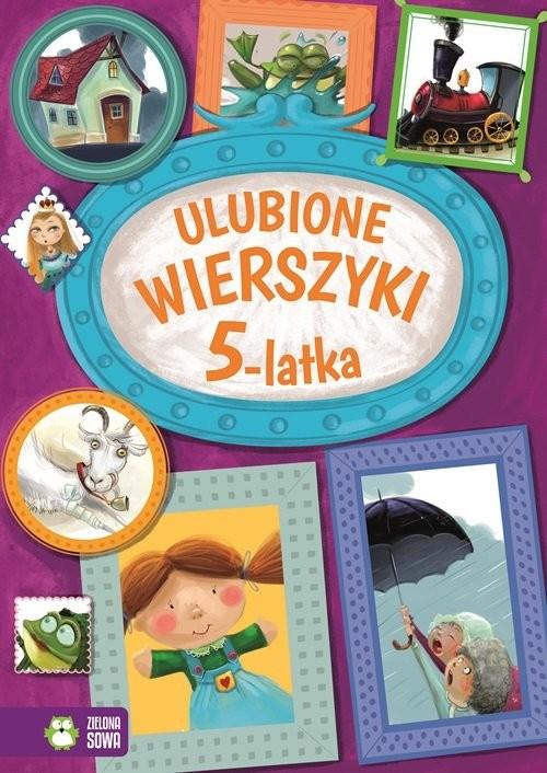okładka Ulubione wierszyki 5-latka, Książka | Praca Zbiorowa