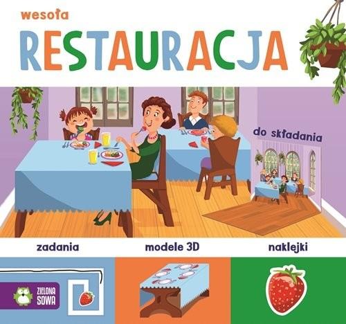 okładka Wesoła restauracja, Książka | Praca Zbiorowa
